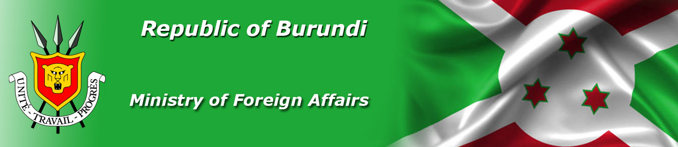 Ministry of Foreign Affairs, Republic of Burundi