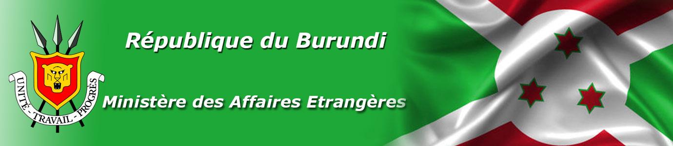Ministère des Affaires Etrangères du Burundi